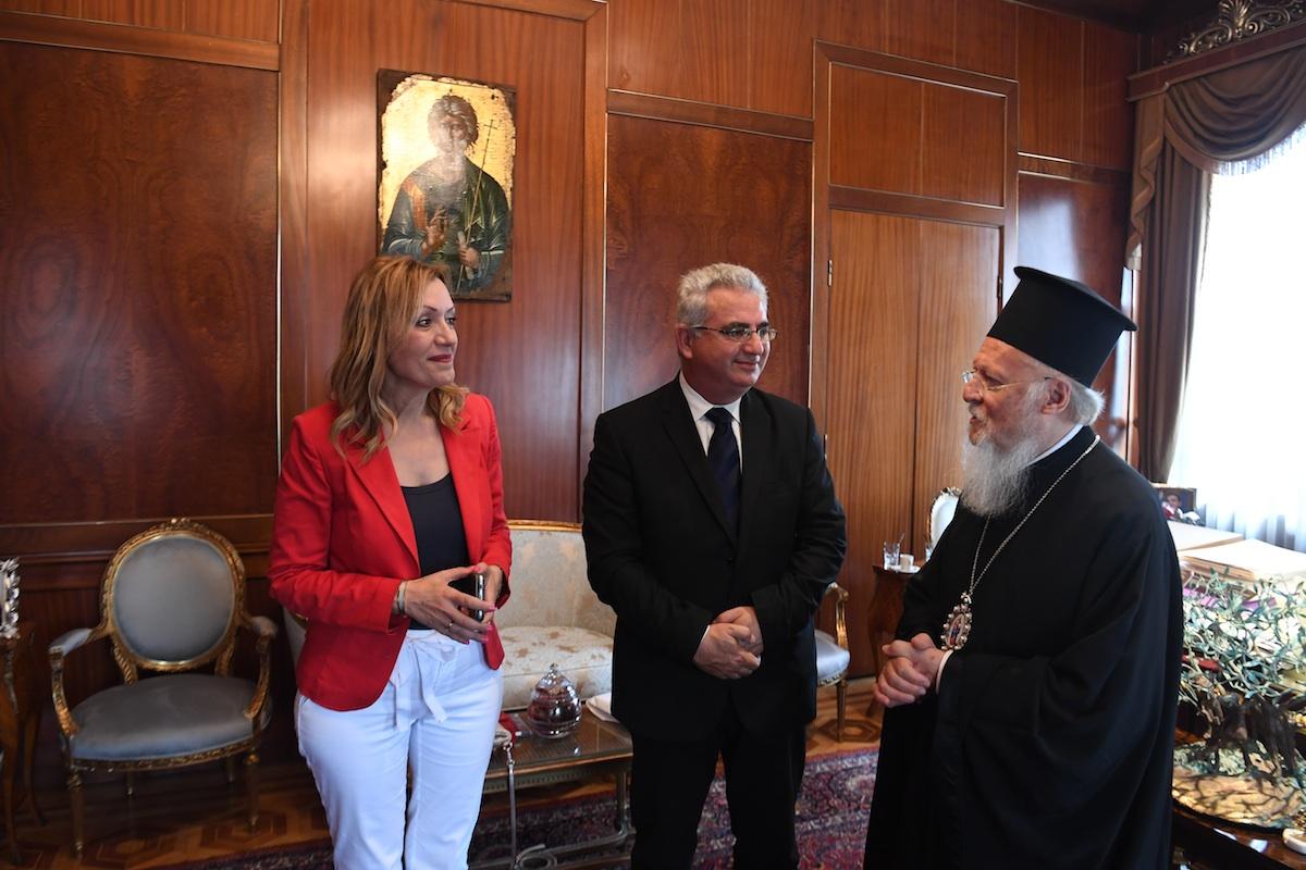 Επίσκεψη μελών της Βουλής των Αντιπροσώπων της Κυπριακής Δημοκρατίας στο Οικουμενικό Πατριαρχείο