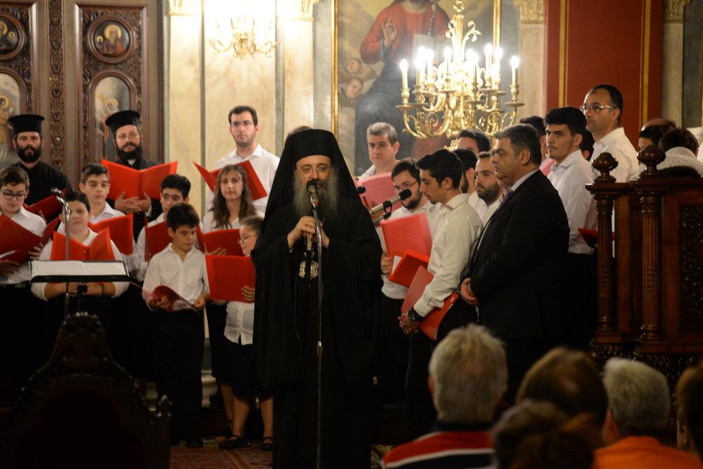 Εορταστικὴ Συναυλία στον Ιερὸ Μητροπολιτικὸ Ναὸ Ευαγγελιστρίας Πατρών FOTO
