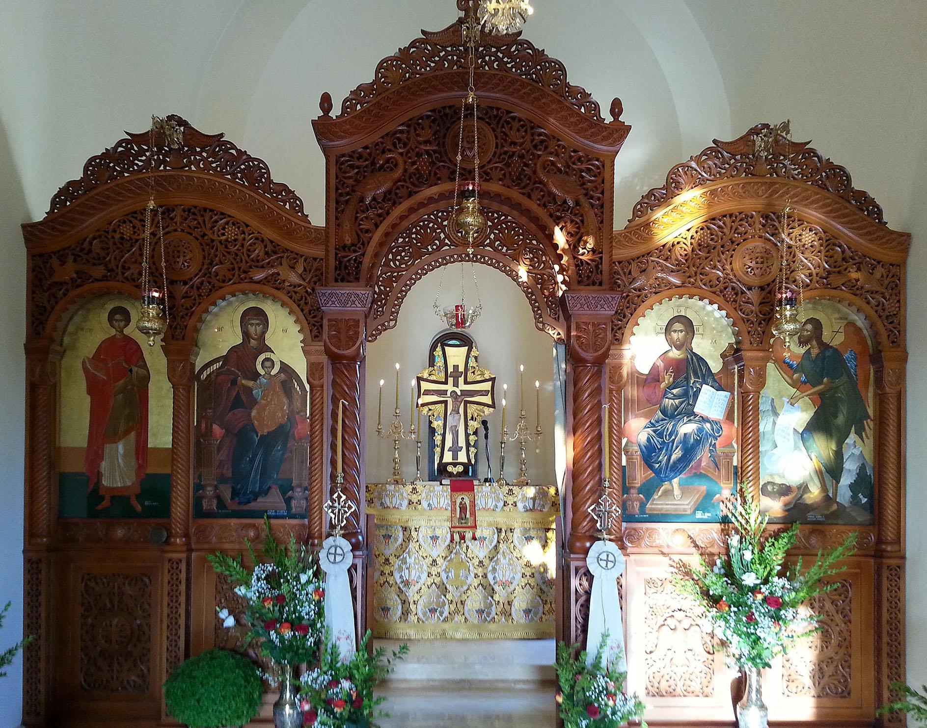 Μνήμη του Αγίου Μεγαλομάρτυρος και Ιαματικού Παντελεήμονος - Ι. Ν. στο Επισκοπείο της Ι. Μητροπόλεως Ρεθύμνης και Αυλοποτάμου