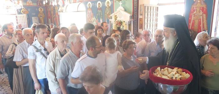 Η Ιερά Πανήγυρις του Μητροπολιτικού Παρεκκλησίου του Προφήτου Ηλιού FOTO