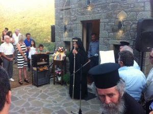 Θυρανοίξια Ιερού Ναού Αγίου Αιμιλιανού στην Τσούκα Ευρυτανίας FOTO